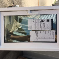 Lowe Hopper Dual Pane Hopper Replacement Window