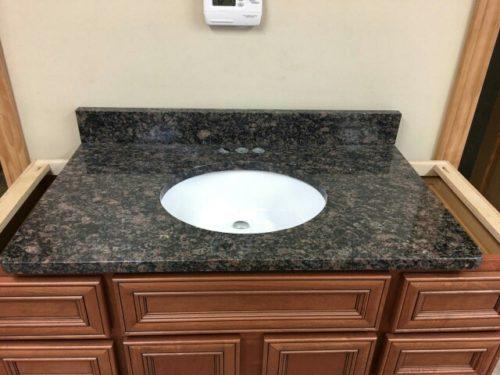 "36"" Granite Vanity Top - with under mount sink"