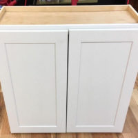 Batroom Wall Cabinet White 30 x 30 x 12