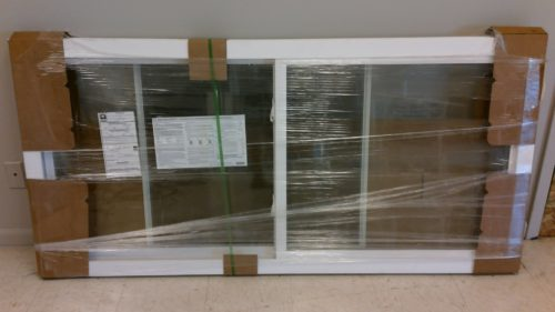 2 Lite Sliding-Slider Replacement Windows