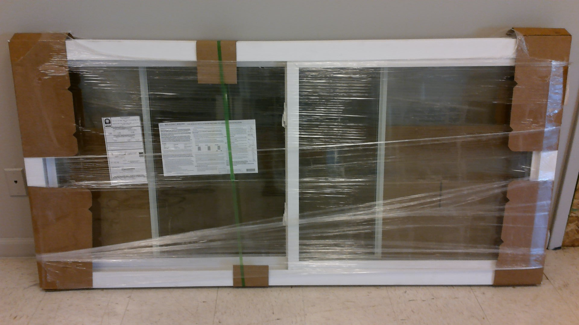 2 Lite Sliding-Slider Replacement Windows