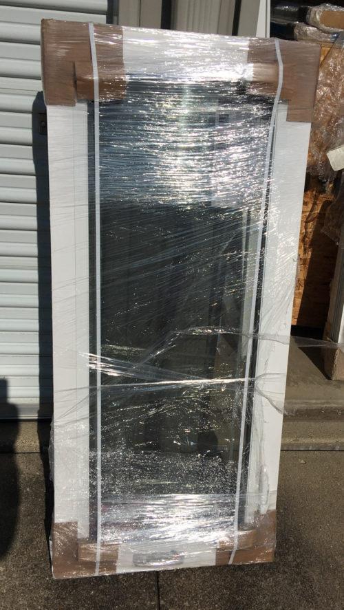 Casement Replacement Window, Dual Pane, Low-e, Full Screen